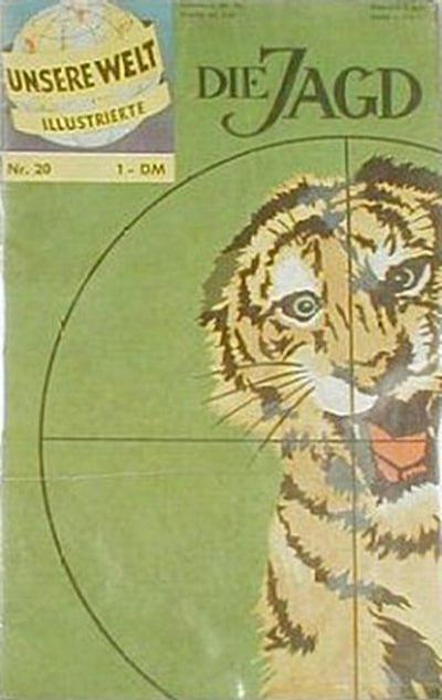 Cover for Unsere Welt Illustrierte (BSV - Williams, 1962 series) #20