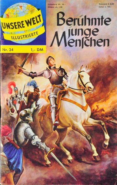 Cover for Unsere Welt Illustrierte (BSV - Williams, 1962 series) #24