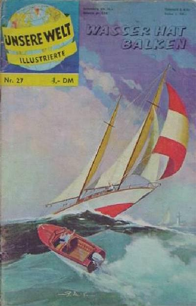 Cover for Unsere Welt Illustrierte (BSV - Williams, 1962 series) #27