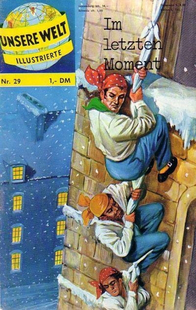 Cover for Unsere Welt Illustrierte (BSV - Williams, 1962 series) #29