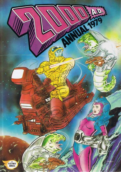 Cover for 2000 AD Annual (Fleetway Publications, 1978 series) #1979