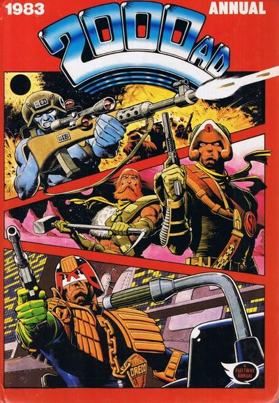 Cover for 2000 AD Annual (Fleetway Publications, 1978 series) #1983