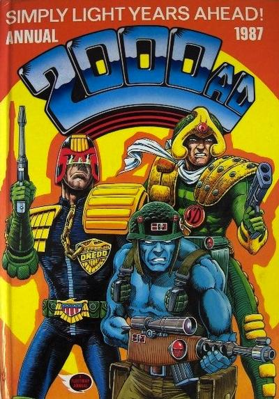 Cover for 2000 AD Annual (Fleetway Publications, 1978 series) #1987