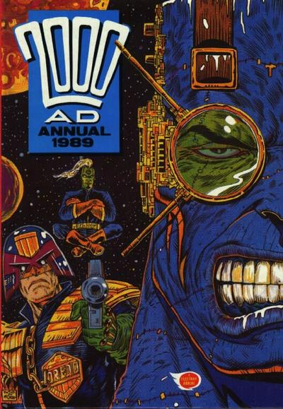 Cover for 2000 AD Annual (Fleetway Publications, 1978 series) #1989
