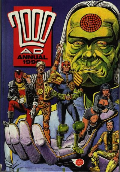 Cover for 2000 AD Annual (Fleetway Publications, 1978 series) #1990