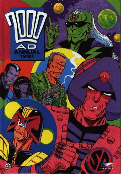 Cover for 2000 AD Annual (Fleetway Publications, 1978 series) #1991