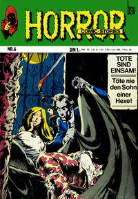 Cover Thumbnail for Horror (BSV - Williams, 1972 series) #6