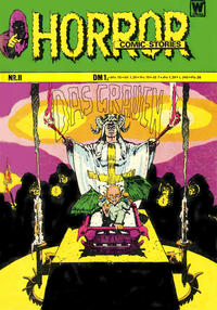 Cover Thumbnail for Horror (BSV - Williams, 1972 series) #11