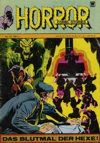 Cover Thumbnail for Horror (BSV - Williams, 1972 series) #13