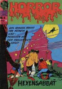Cover Thumbnail for Horror (BSV - Williams, 1972 series) #18