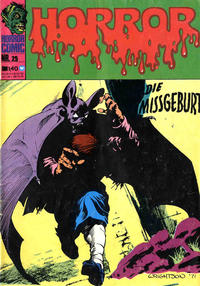 Cover for Horror (BSV - Williams, 1972 series) #25