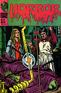 Cover Thumbnail for Horror (BSV - Williams, 1972 series) #43