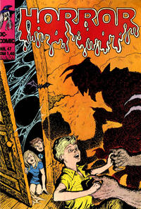 Cover Thumbnail for Horror (BSV - Williams, 1972 series) #47