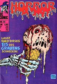Cover Thumbnail for Horror (BSV - Williams, 1972 series) #51