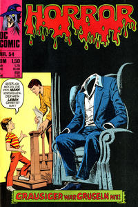 Cover for Horror (BSV - Williams, 1972 series) #54