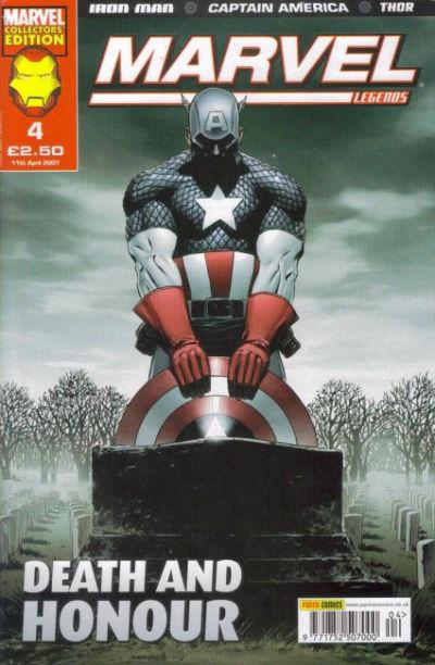 Cover for Marvel Legends (Panini UK, 2006 series) #4