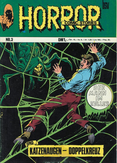 Cover for Horror (BSV - Williams, 1972 series) #2