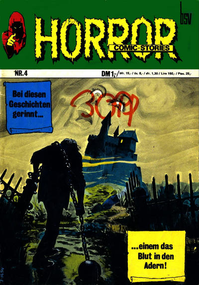 Cover for Horror (BSV - Williams, 1972 series) #4
