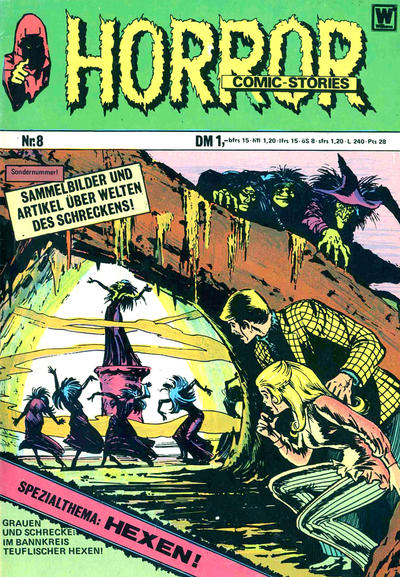 Cover for Horror (BSV - Williams, 1972 series) #8
