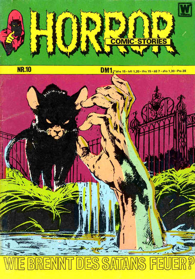 Cover for Horror (BSV - Williams, 1972 series) #10