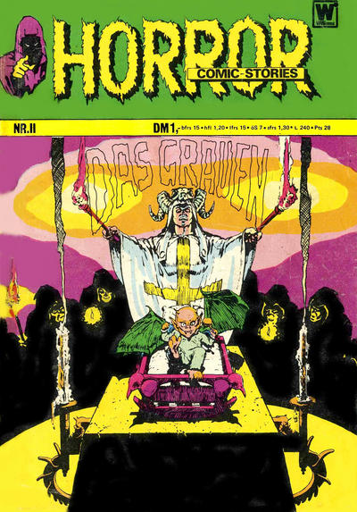Cover for Horror (BSV - Williams, 1972 series) #11