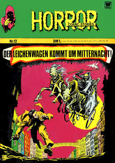 Cover for Horror (BSV - Williams, 1972 series) #12