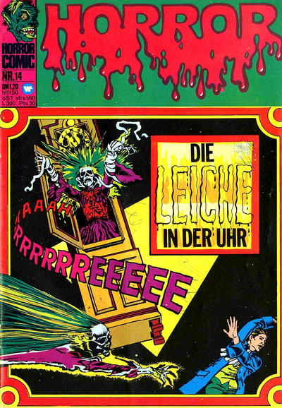 Cover for Horror (BSV - Williams, 1972 series) #14