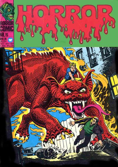 Cover for Horror (BSV - Williams, 1972 series) #15