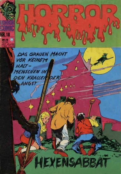 Cover for Horror (BSV - Williams, 1972 series) #18