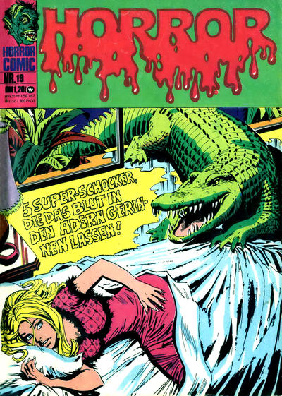 Cover for Horror (BSV - Williams, 1972 series) #19