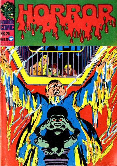 Cover for Horror (BSV - Williams, 1972 series) #20