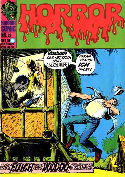 Cover for Horror (BSV - Williams, 1972 series) #22