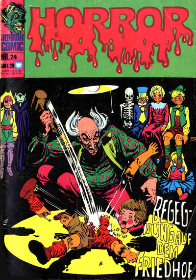 Cover for Horror (BSV - Williams, 1972 series) #24
