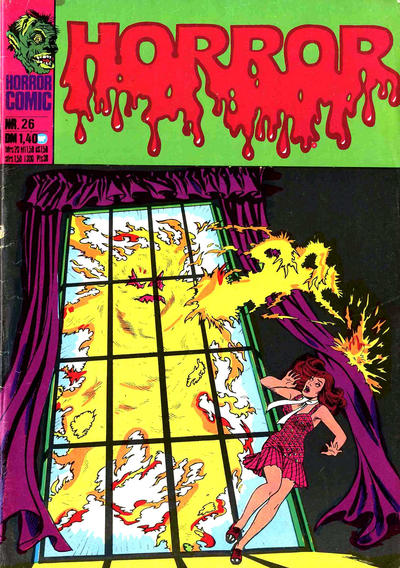 Cover for Horror (BSV - Williams, 1972 series) #26