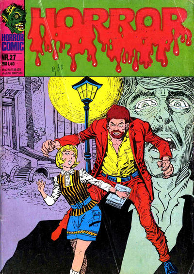 Cover for Horror (BSV - Williams, 1972 series) #27
