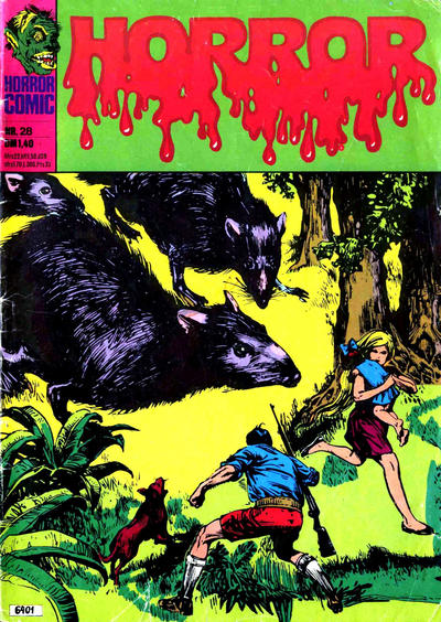 Cover for Horror (BSV - Williams, 1972 series) #28