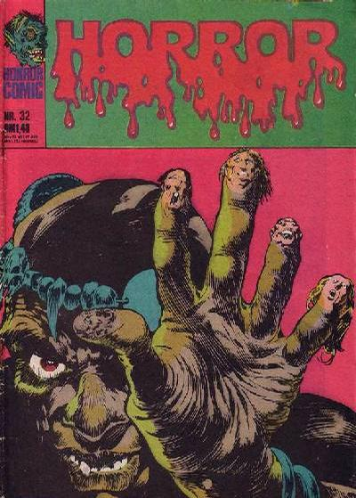 Cover for Horror (BSV - Williams, 1972 series) #32