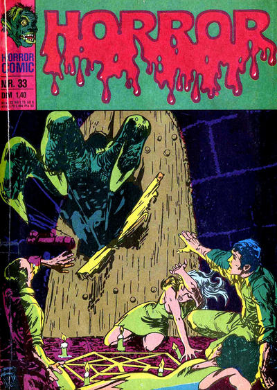 Cover for Horror (BSV - Williams, 1972 series) #33