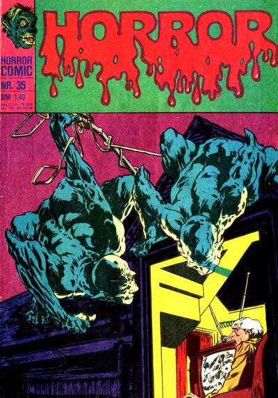 Cover for Horror (BSV - Williams, 1972 series) #35