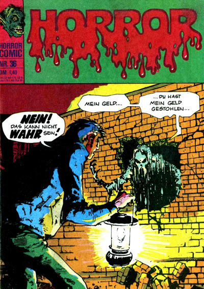 Cover for Horror (BSV - Williams, 1972 series) #36
