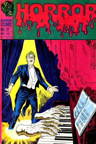 Cover for Horror (BSV - Williams, 1972 series) #37