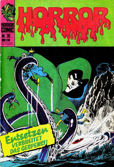 Cover for Horror (BSV - Williams, 1972 series) #38