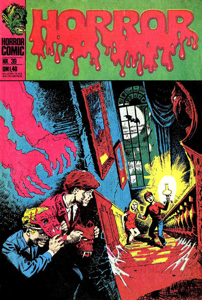 Cover for Horror (BSV - Williams, 1972 series) #39