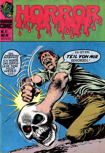 Cover for Horror (BSV - Williams, 1972 series) #41