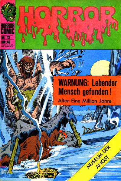 Cover for Horror (BSV - Williams, 1972 series) #42