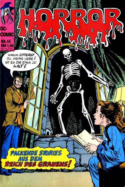 Cover for Horror (BSV - Williams, 1972 series) #44