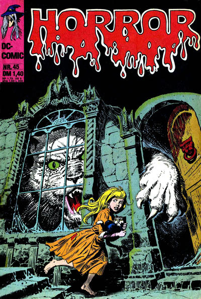 Cover for Horror (BSV - Williams, 1972 series) #45
