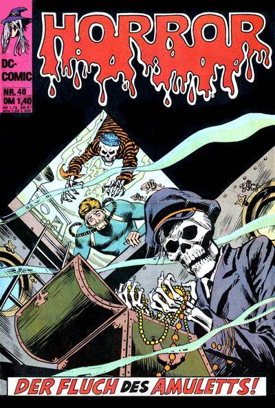 Cover for Horror (BSV - Williams, 1972 series) #48