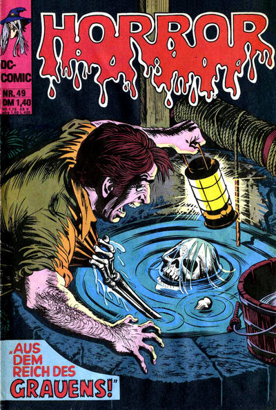 Cover for Horror (BSV - Williams, 1972 series) #49