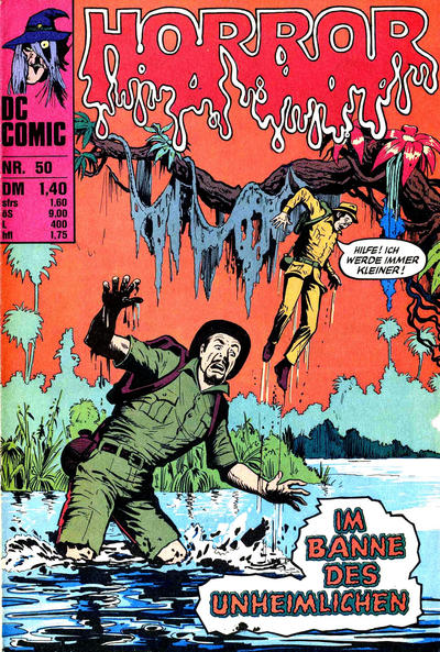 Cover for Horror (BSV - Williams, 1972 series) #50